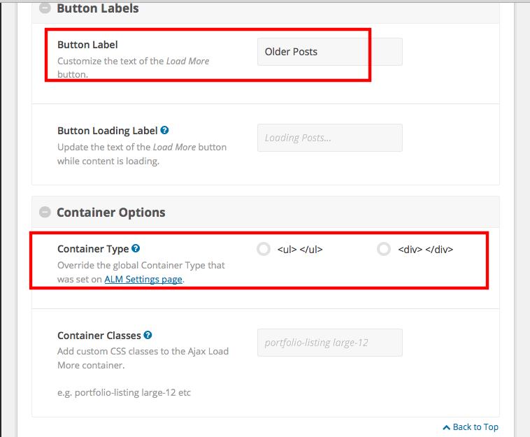 WordPress load more